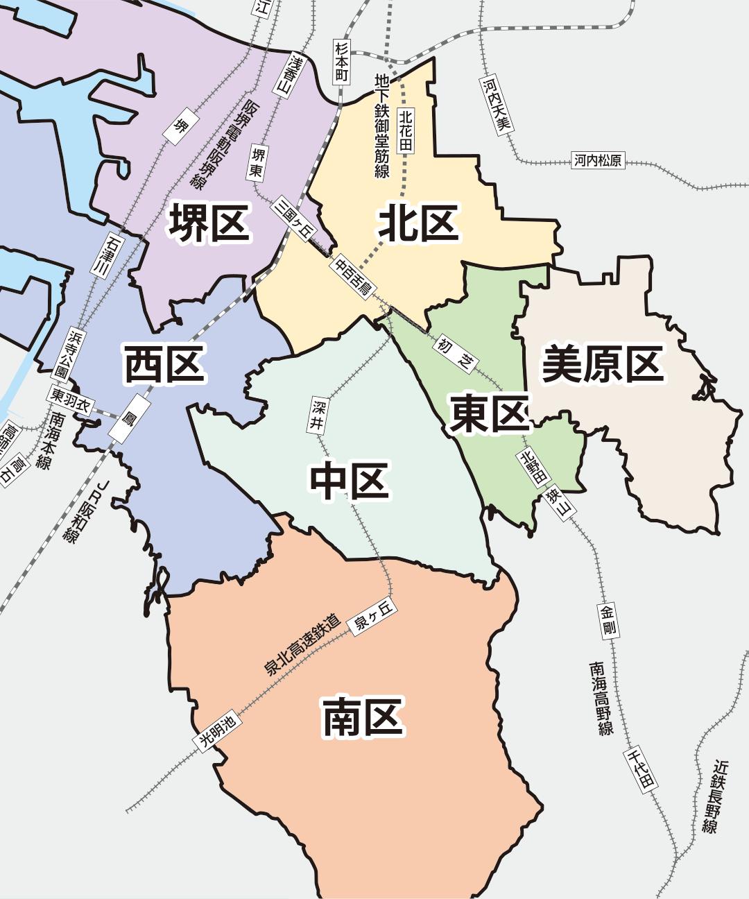 堺市の人口